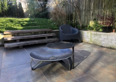 5 mm 80 cm Brazier with BBQ Plate